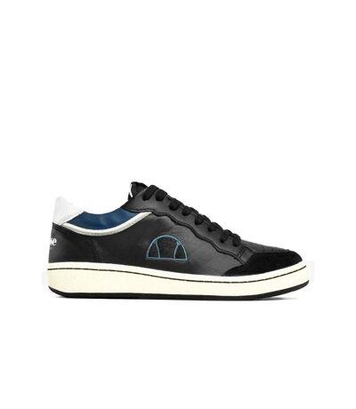 Sneakers cuir logo brodé  -  Ellesse - Homme