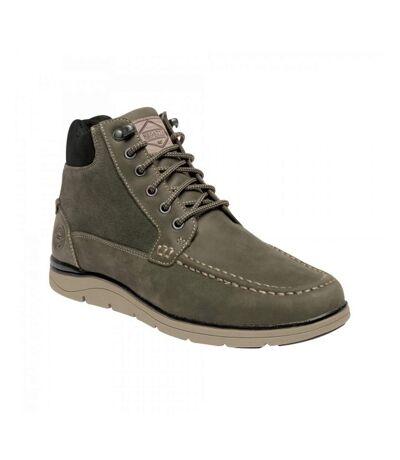 Regatta Mens Denshaw Leather Boots (Briar/Blue Wing) - UTRG3885