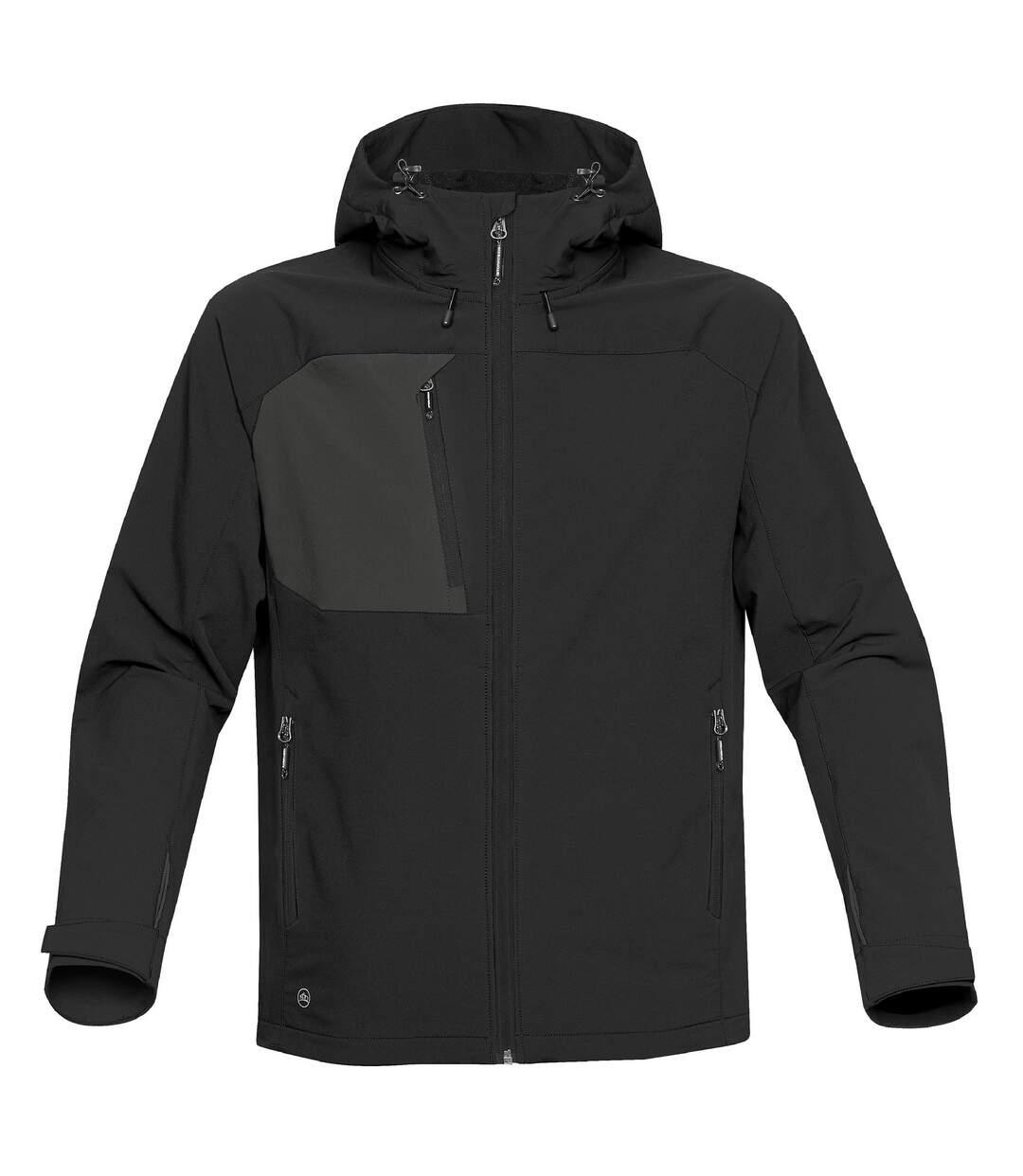 Stormtech Mens Sidewinder Shell Jacket (Black/Black) - UTBC3879