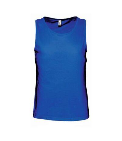 SOLS Mens Justin Sleeveless Tank / Vest Top (Royal Blue) - UTPC312