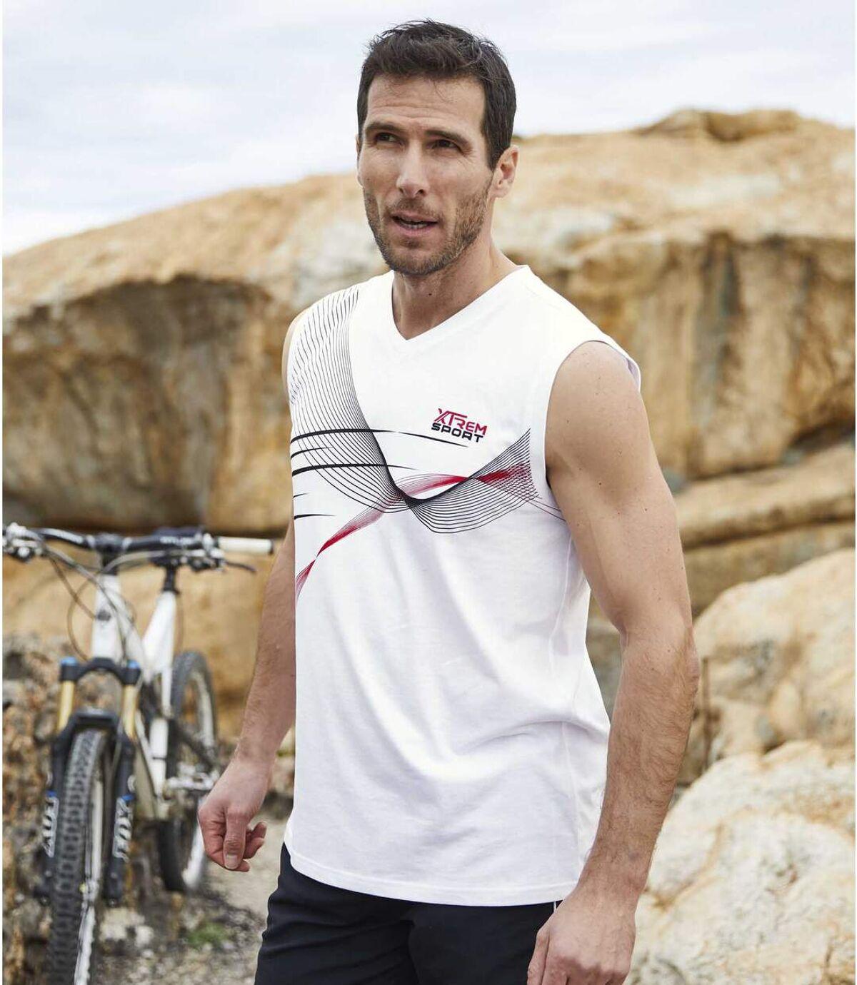 Sada 3 tílek rukávů Sport Line Atlas For Men