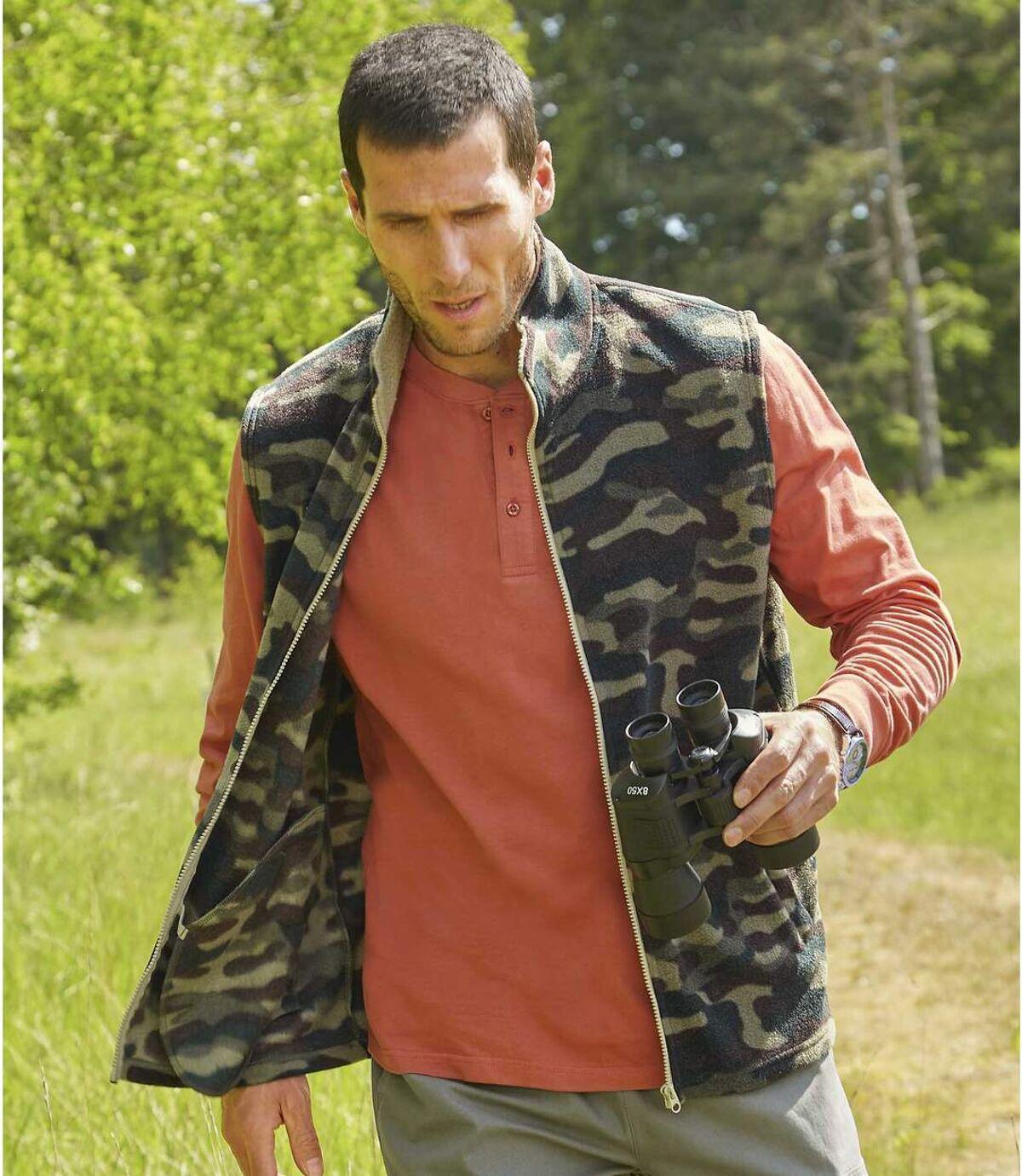 Fleeceweste Camouflage Atlas For Men