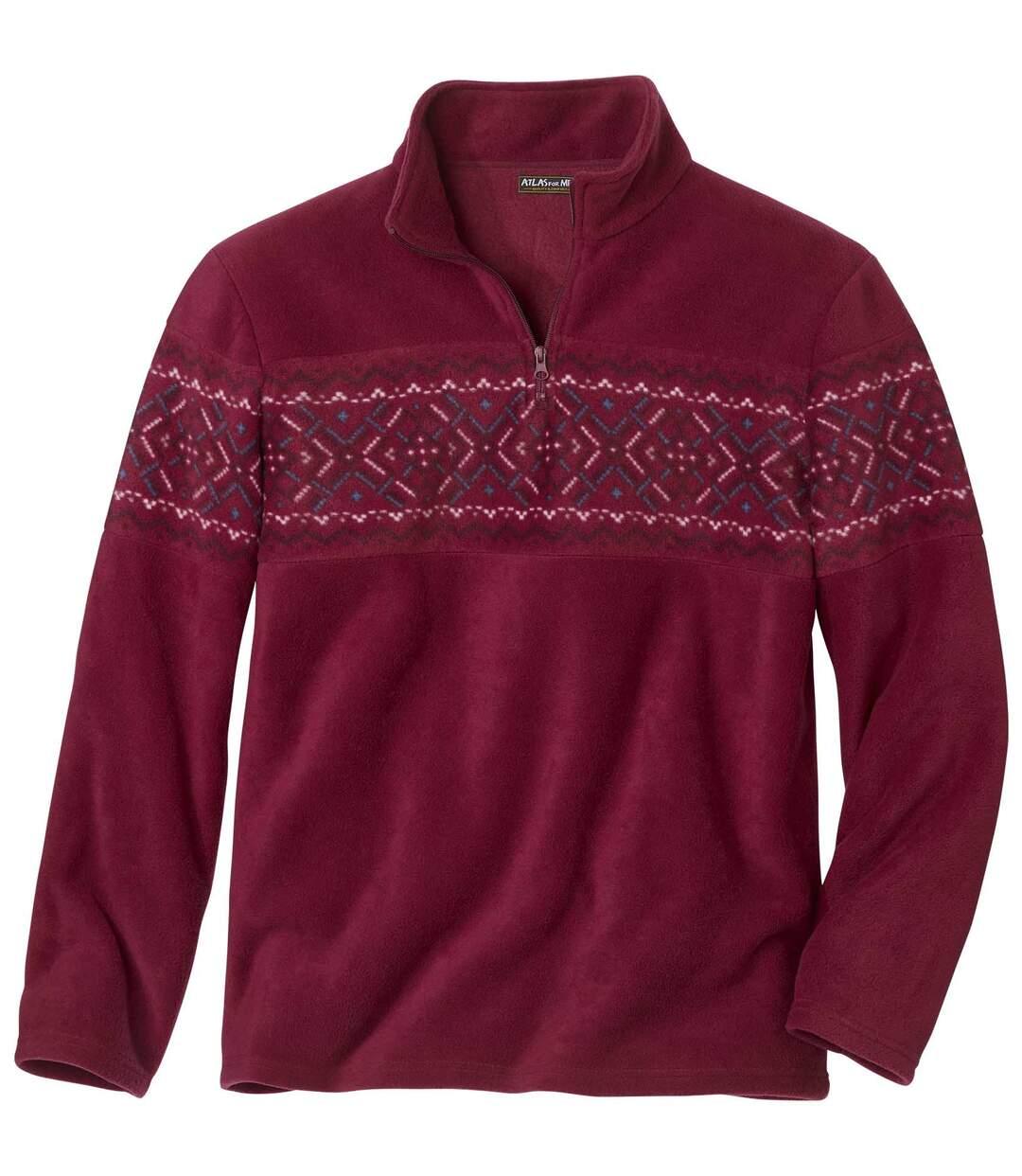Fleecesweater Jacquard Oslo