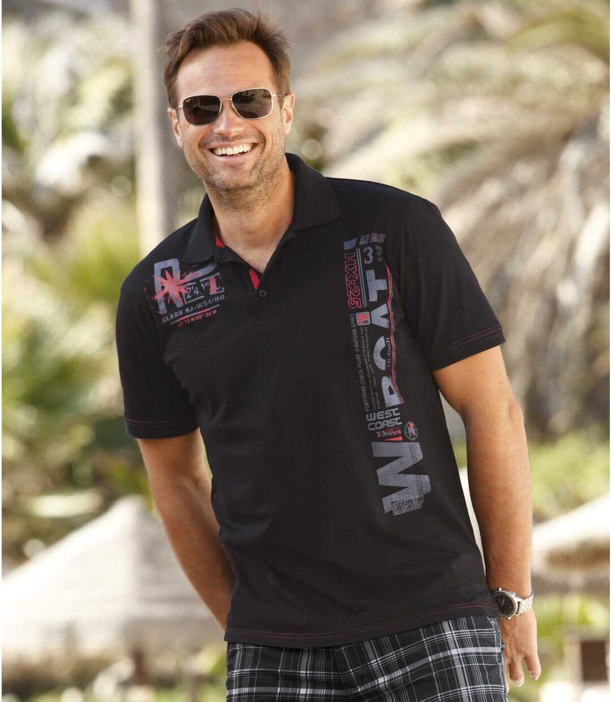 Žerzejové polo tričko Santorini Atlas For Men