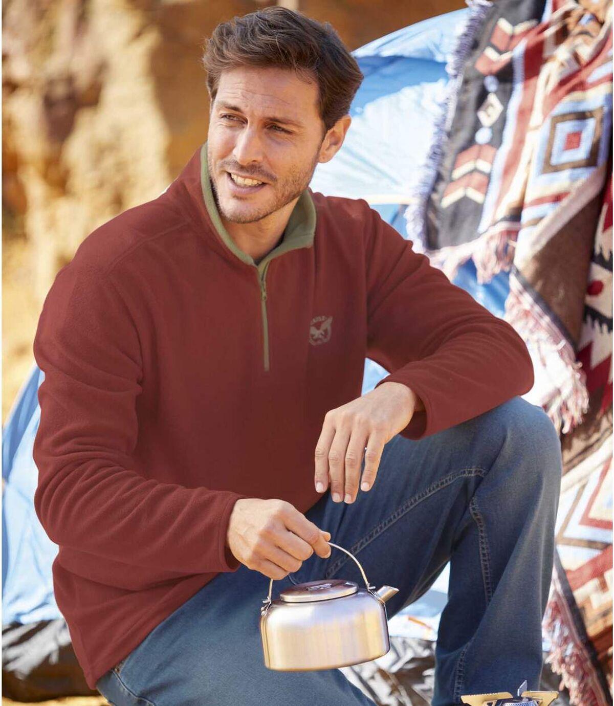 Két darabos polár Windy West pulóver szett Atlas For Men