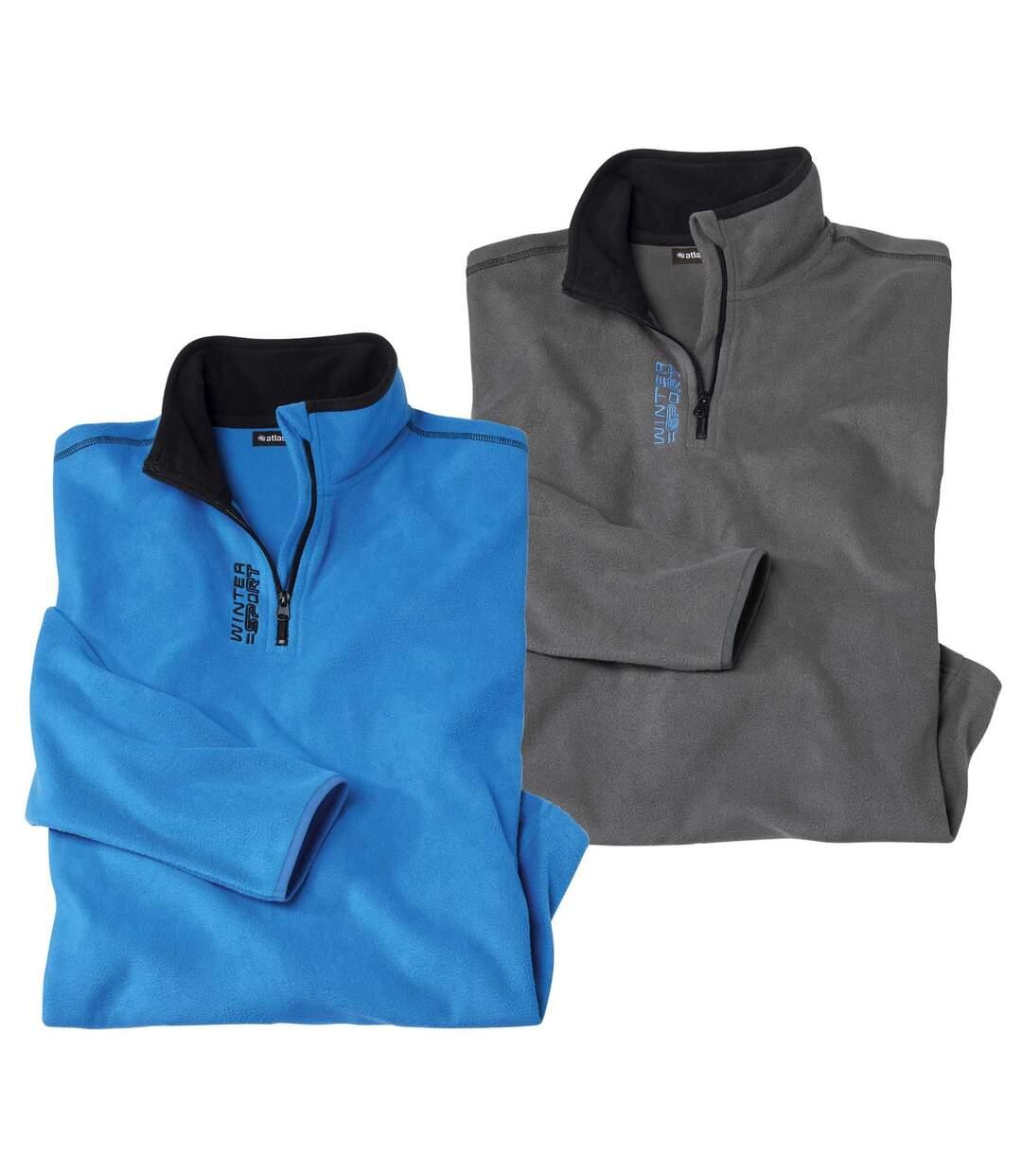 Set van 2 microfleece sweaters Winter Sport  Atlas For Men