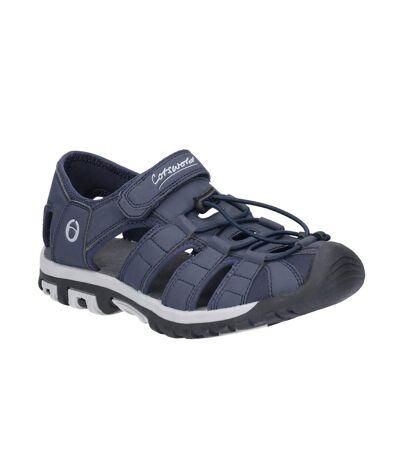 Cotswold Mens Tormarton Closed Toe Fisherman Walking Sandals (Blue) - UTFS6382