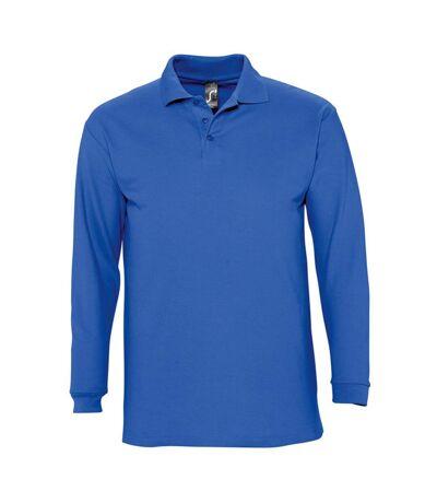 SOLS Winter II - Polo à manches longues - Homme (Bleu roi) - UTPC329