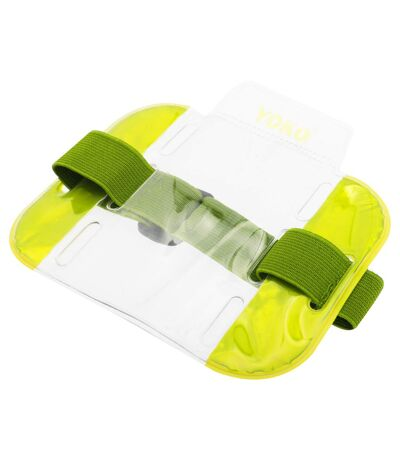 Yoko ID Armbands / Accessories (Pack Of 4) (Floro Yellow) (One Size) - UTBC4156