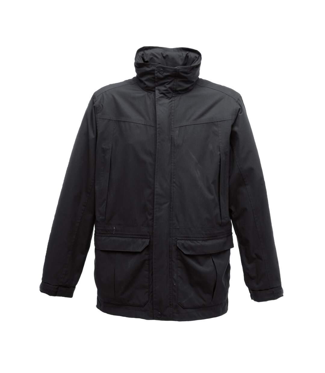 Regatta Mens Vertex III Waterproof Breathable Jacket (Black) - UTRG1608