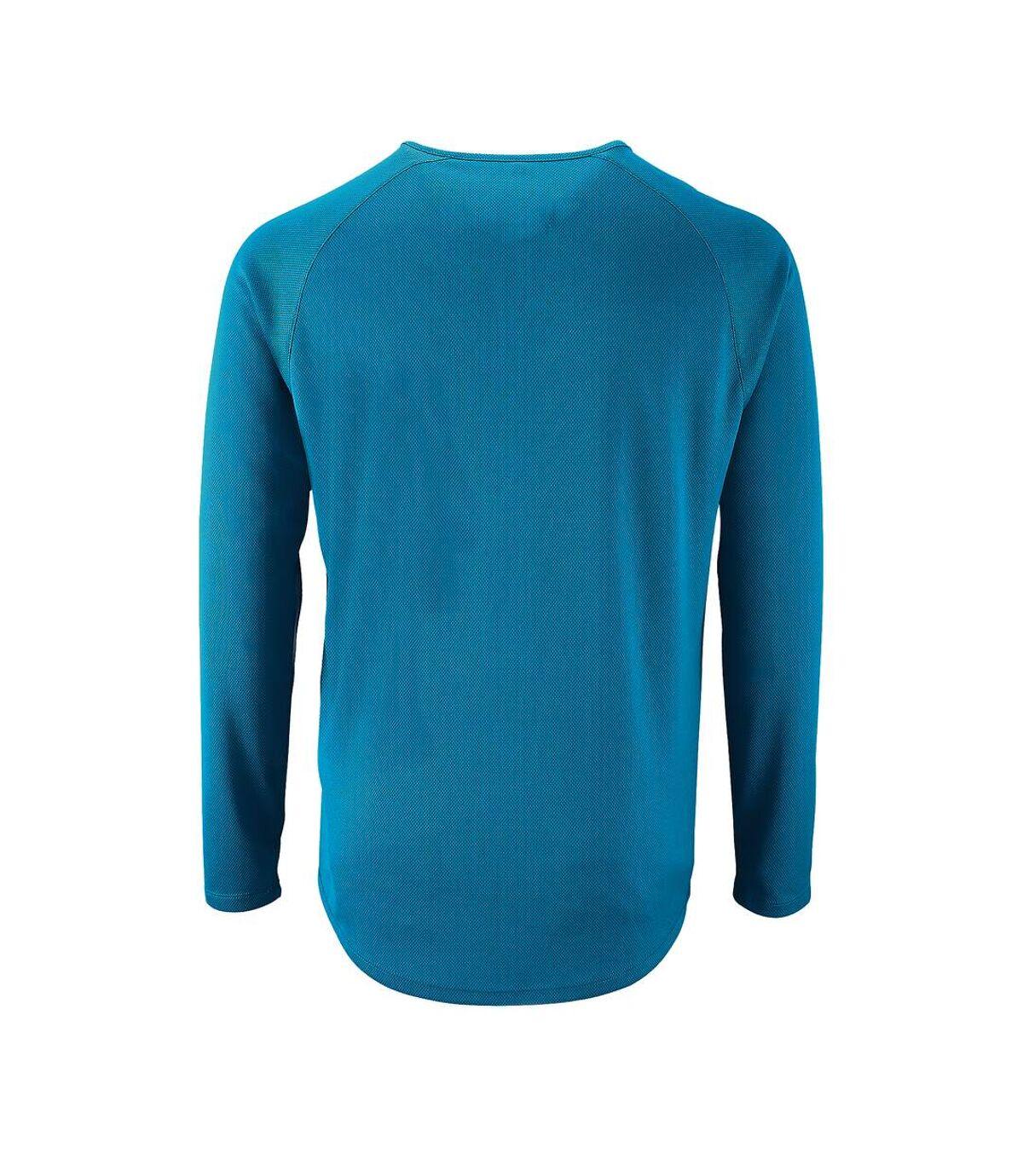 SOLS Mens Sporty Long Sleeve Performance T-Shirt (Black) - UTPC2903