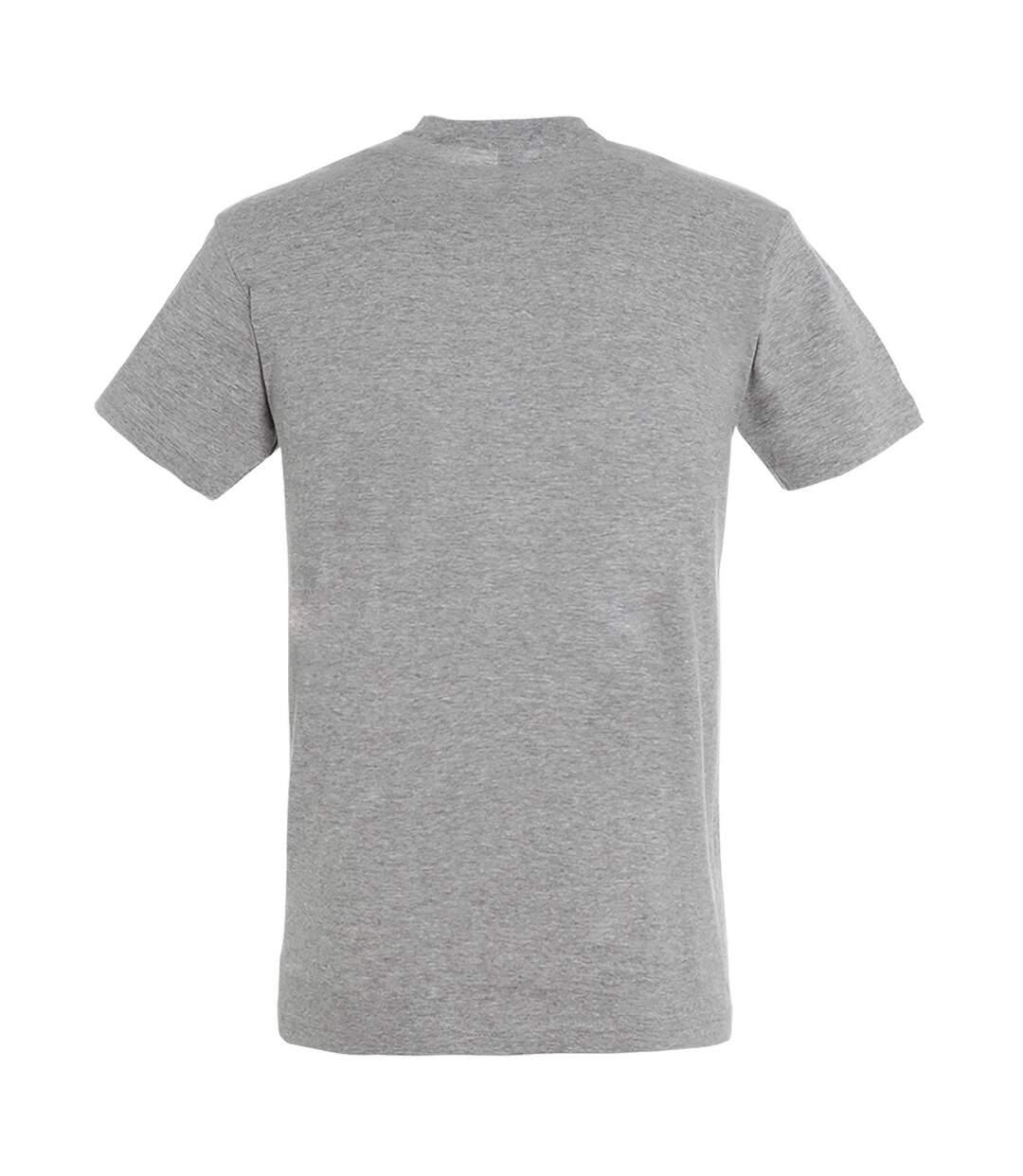 SOLS Mens Regent Short Sleeve T-Shirt (Grey Marl) - UTPC288