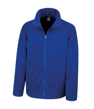 Result Core Mens Micron Anti Pill Fleece Jacket (Royal) - UTBC852