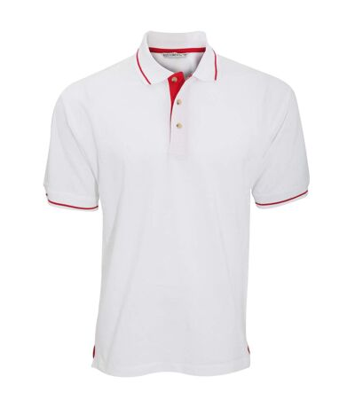 Kustom Kit Mens St. Mellion Mens Short Sleeve Polo Shirt (Black/Lime) - UTBC615