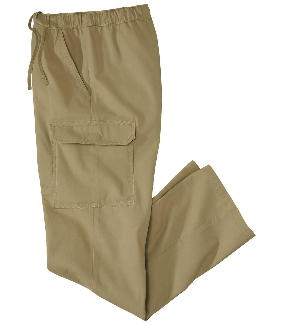 Men's Beige Cargo Lounge Trousers