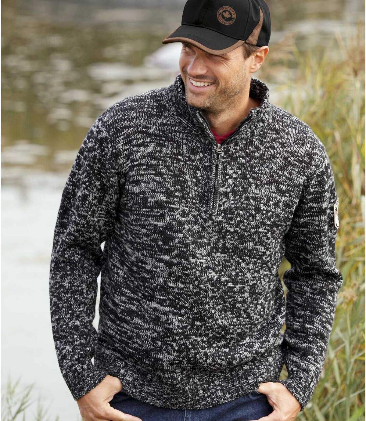 Melírovaný pulovr Canadian Way Atlas For Men