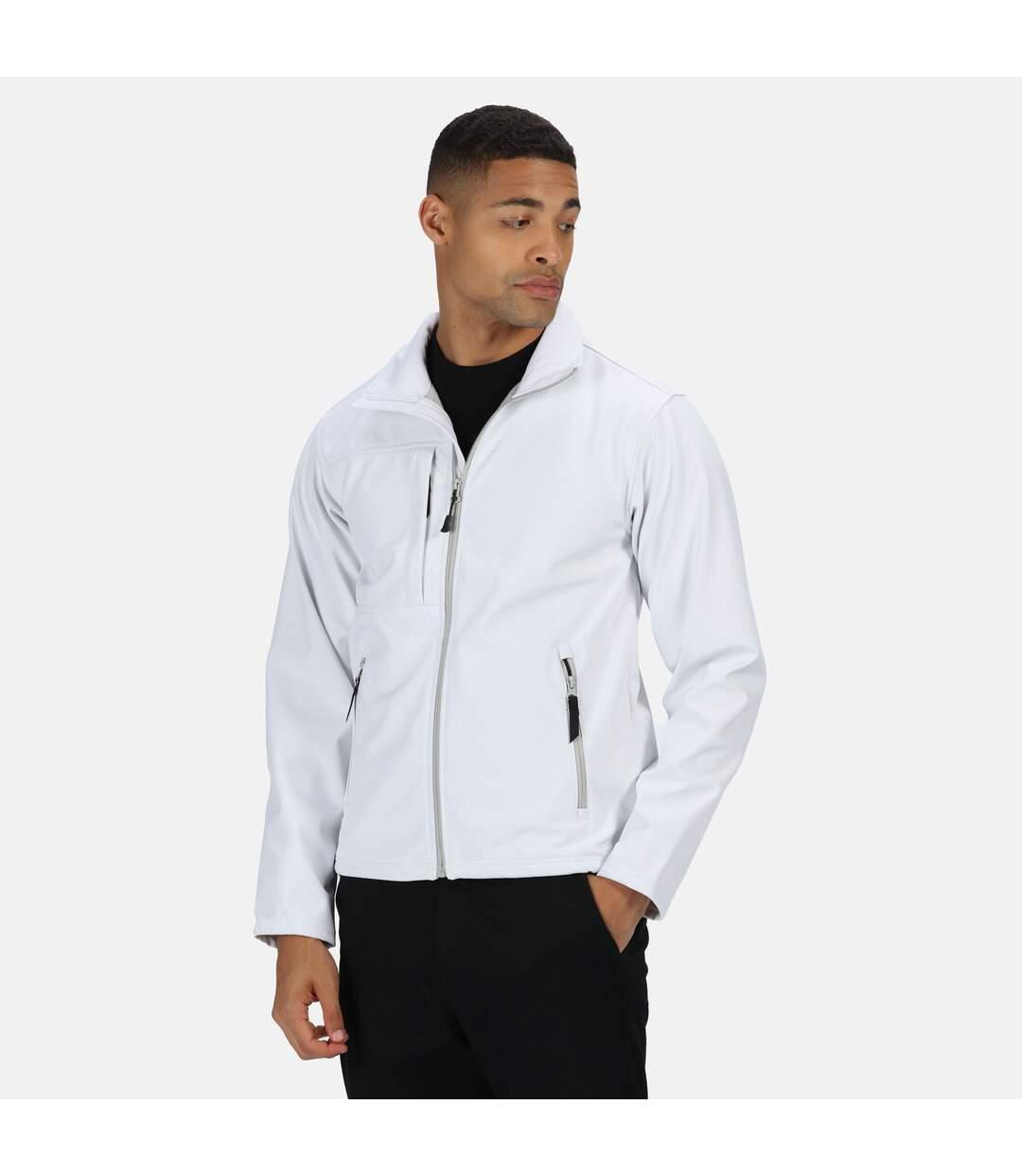 Regatta Professional Mens Octagon II Waterproof Softshell Jacket (Dark Spruce/Black) - UTRG2164