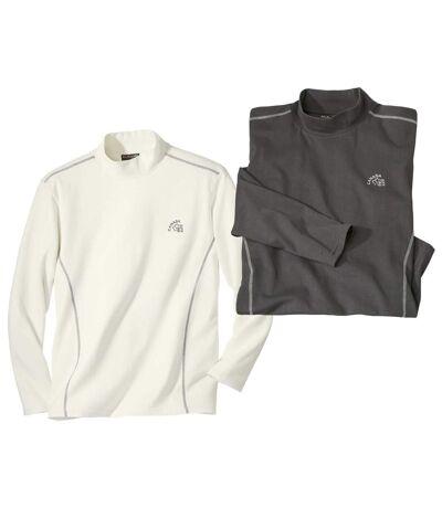 2er-Pack Unterzieh-Pullover Canada mit Stehkragen