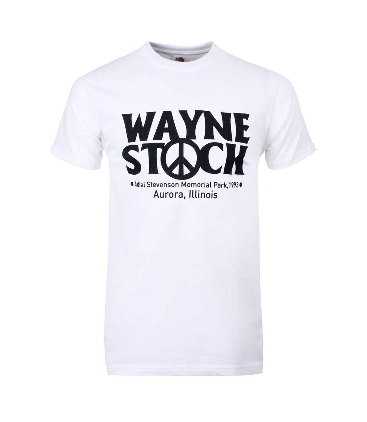 Grindstore Mens Wayne Stock T Shirt (White) - UTGR1568