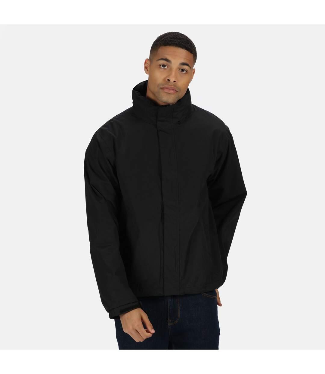 Regatta Mens Pace II Lightweight Waterproof Jacket (Black) - UTRG1546
