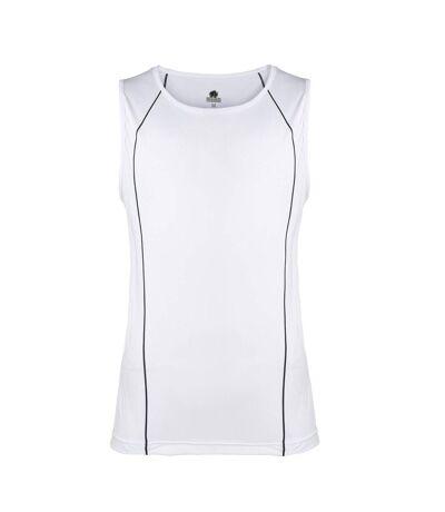 Rhino Mens Rio Sport Rugby Vest (White/ Black) - UTRW4413