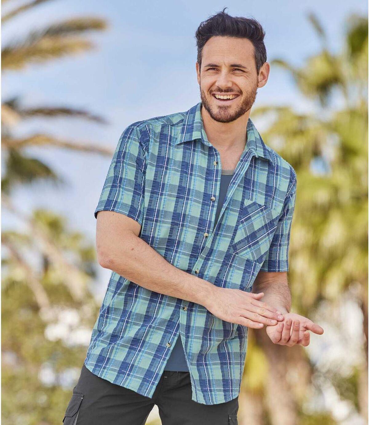 Kockovaná košeľa Paros Atlas For Men