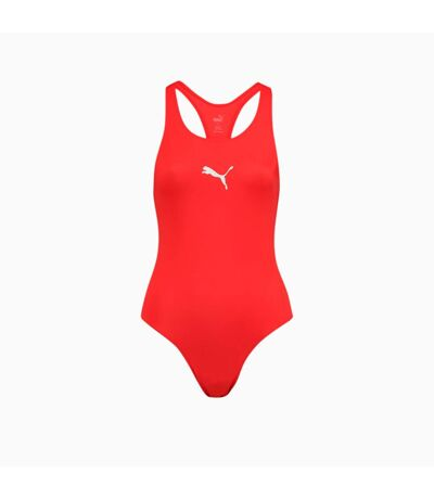 Puma Womens/Ladies One Piece Swimsuit (Red) - UTRD235