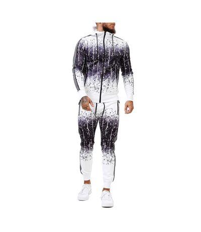 Survêtement streetwear homme Survêt 1649 blanc