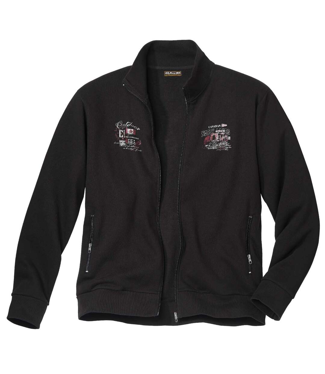 Moltonová vesta na zips Sportwear