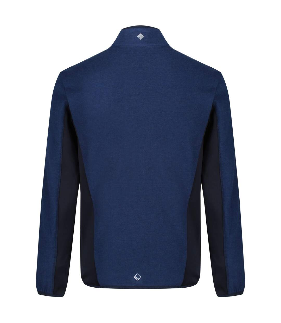Regatta Mens Kestor Knit Effect Fleece (Prussian Blue/Navy) - UTRG4472