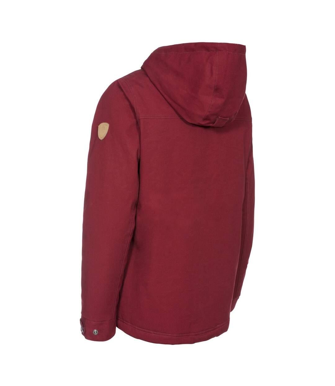 Trespass Womens/Ladies Devoted Waterproof Jacket (Merlot) - UTTP4817