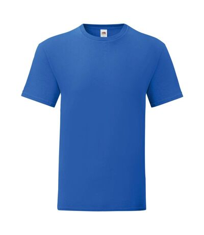 Fruit Of The Loom Mens Iconic T-Shirt (Pack Of 5) (Royal Blue) - UTPC4369
