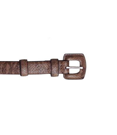 Eastern Counties Leather Womens/Ladies Faux Snake Print Belt (Brown) - UTEL245