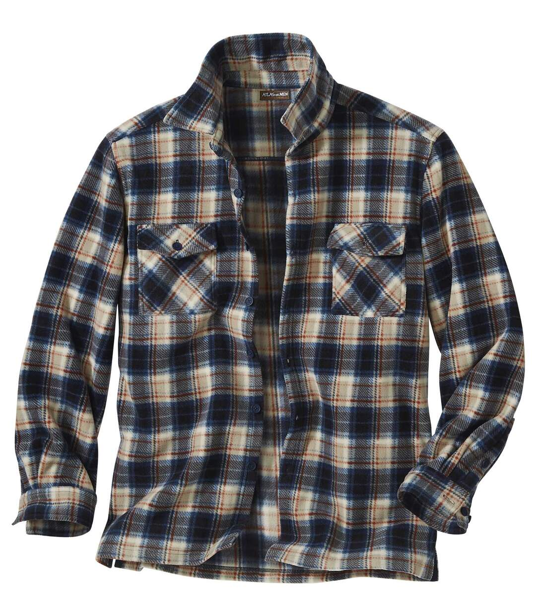 Outdoor overhemd van fleece Atlas For Men
