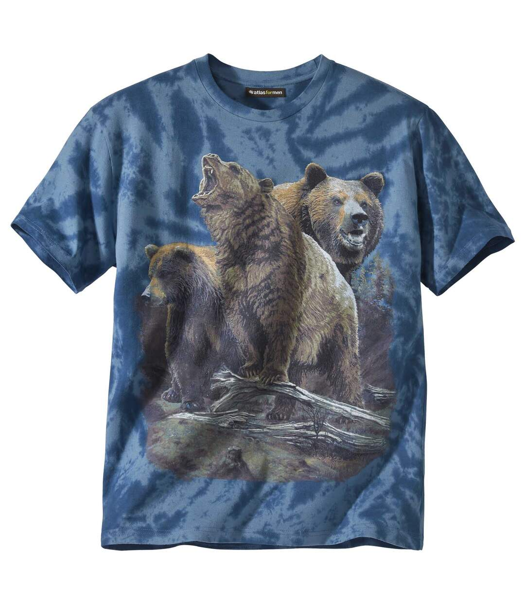 Tie-dye T-shirt Rocky Mountains