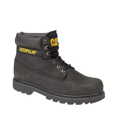 Chaussures montantes Caterpillar Colorado pour homme (Noir/Nubuck) - UTFS887