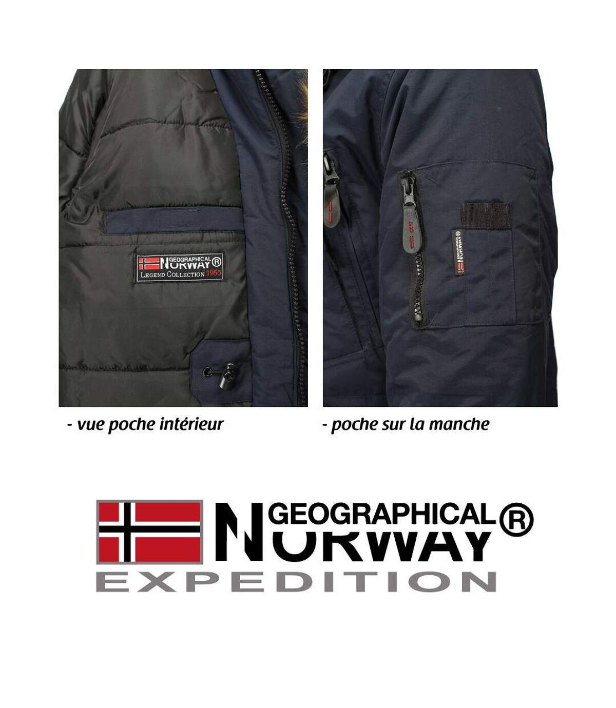 Parka homme Geographical Norway Parka GN Bottle bleu marine