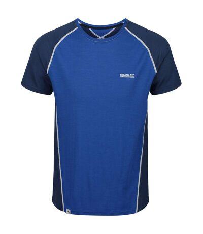 Regatta - T-shirt de sport TORNELL - Homme (Bleu/denim foncé) - UTRG4935