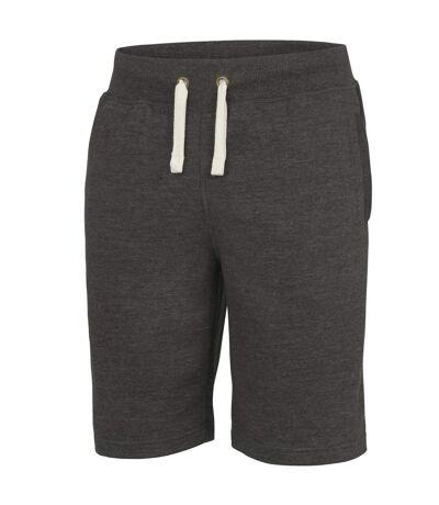 AWDis Hoods Plain Heavyweight Campus Shorts (Charcoal) - UTRW2549