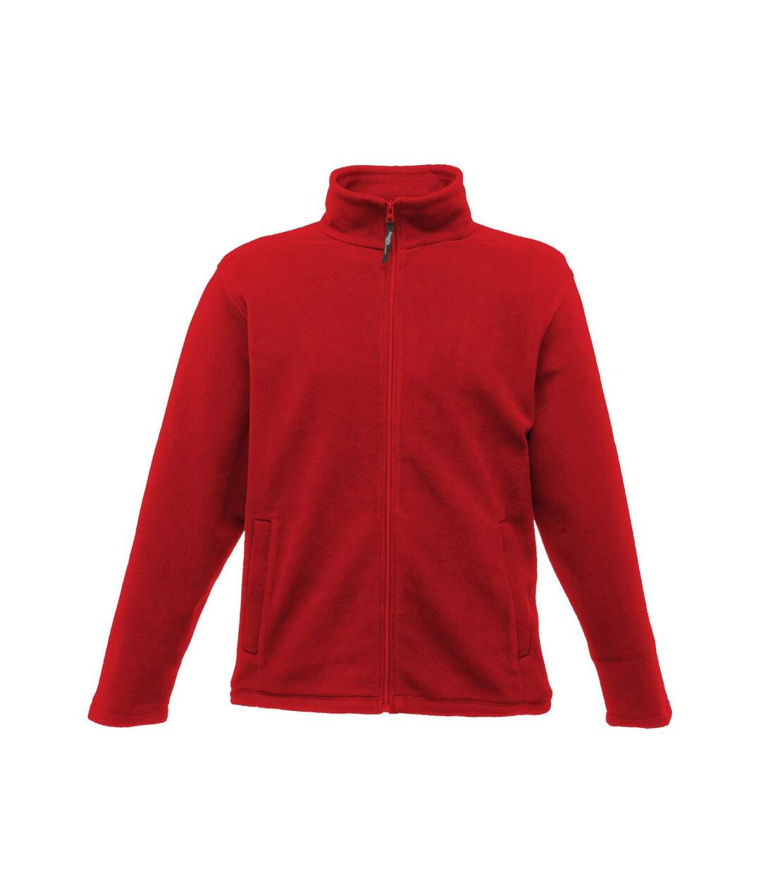 Regatta Mens Plain Micro Fleece Full Zip Jacket (Layer Lite) (Classic Red) - UTBC2042