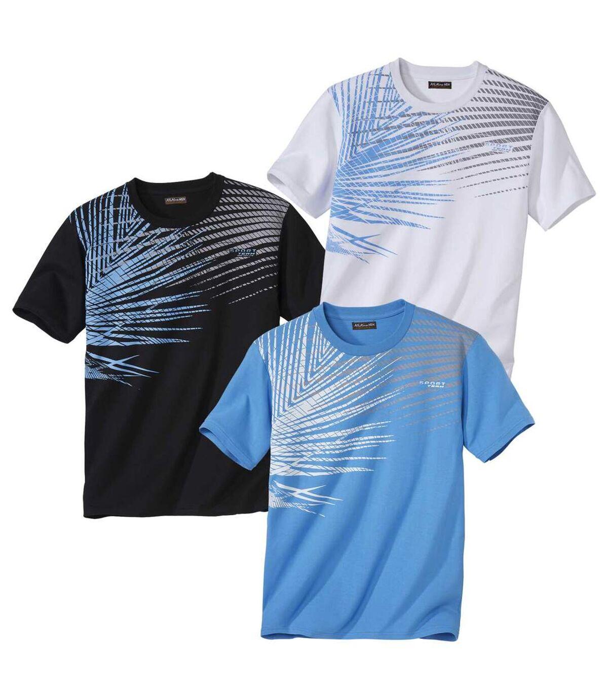Set van 3 Graphic Palm T-shirts Atlas For Men