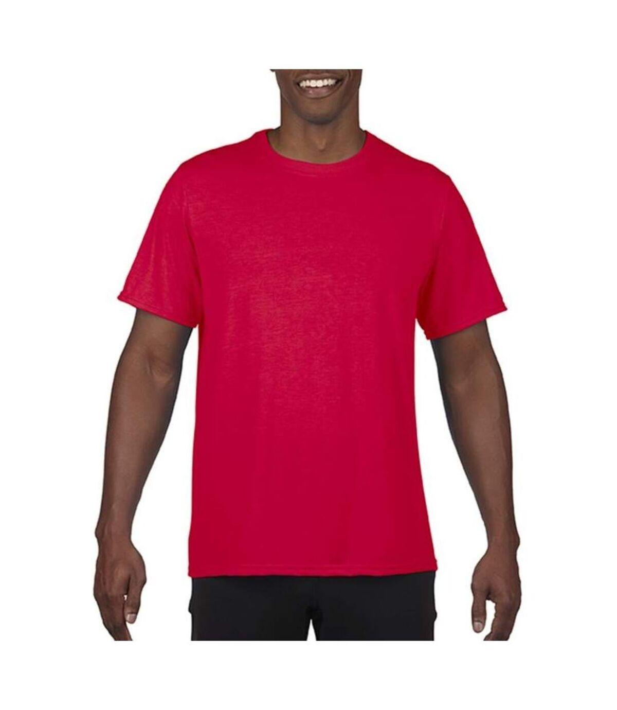 Gildan Mens Performance Core Short Sleeve T-Shirt (Sport Scarlet Red) - UTPC2851