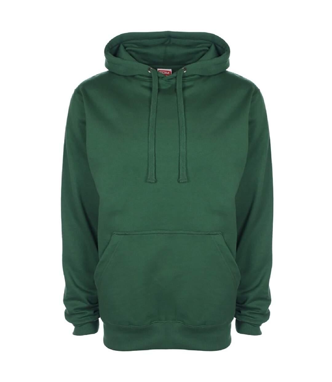 FDM Unisex Plain Original Hooded Sweatshirt / Hoodie (300 GSM) (Forest Green) - UTBC2024