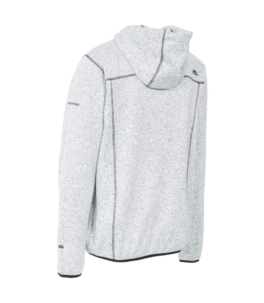 Trespass Mens Odeno Fleece Jacket (Cool Grey Marl) - UTTP4374