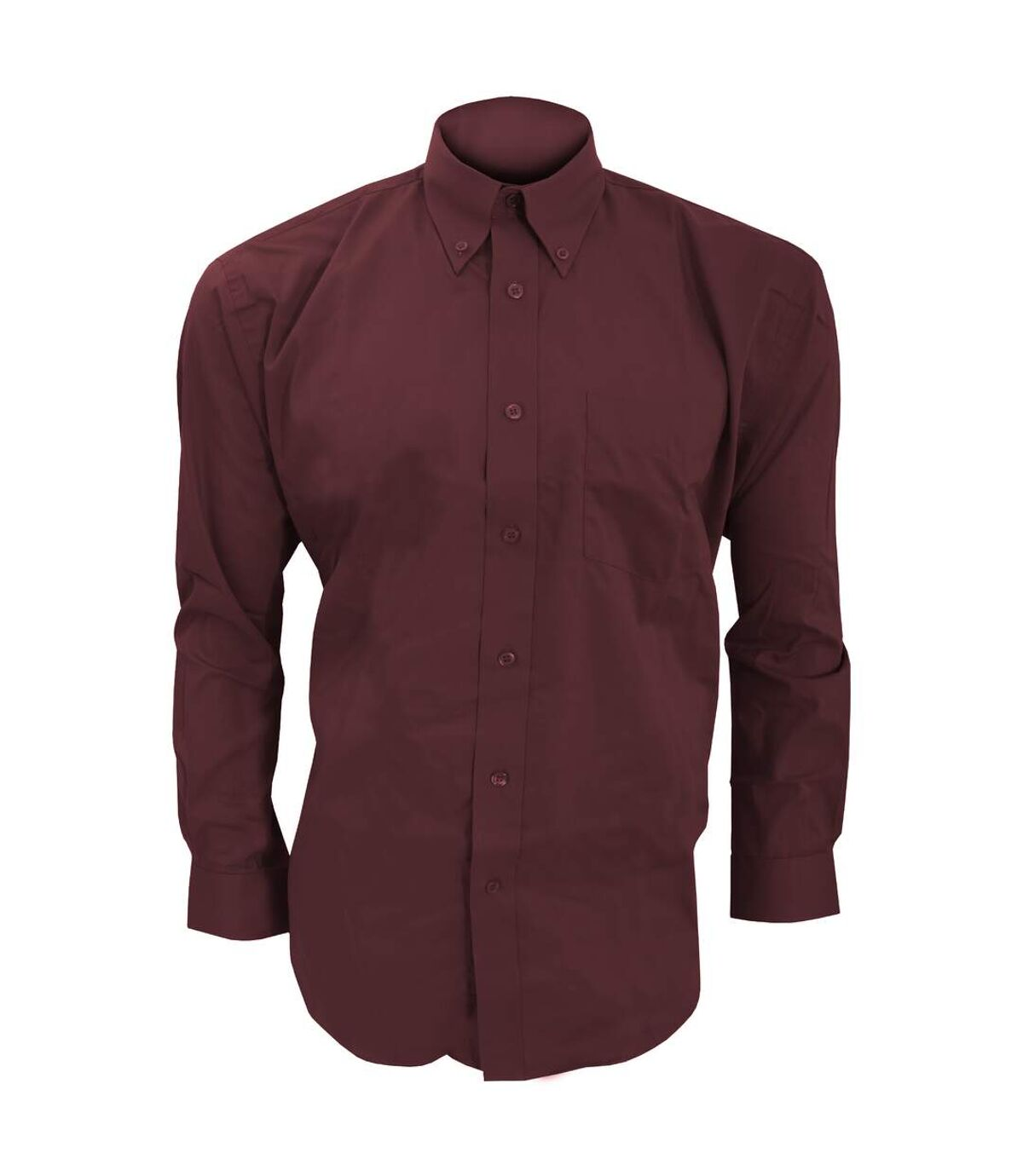 Kustom Kit Mens Long Sleeve Corporate Oxford Shirt (Black) - UTBC594
