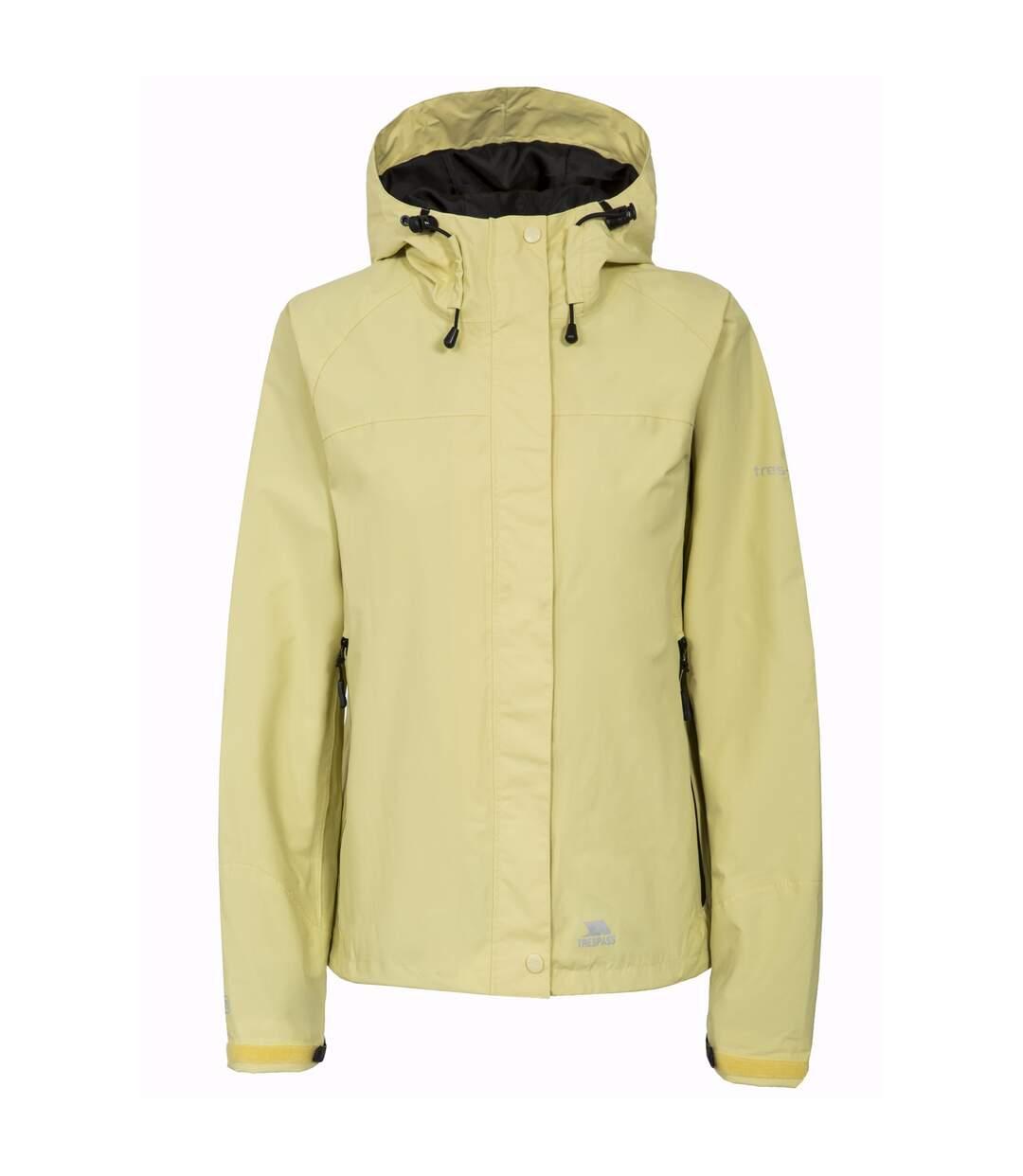 Trespass Womens/Ladies Miyake Hooded Waterproof Jacket (Limelight) - UTTP165