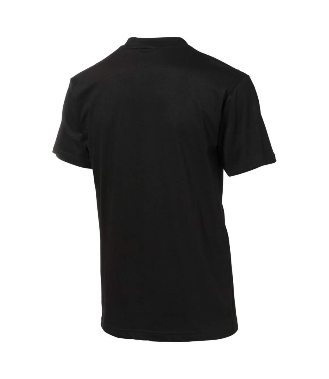 Slazenger Mens Ace Short Sleeve T-Shirt (Solid Black) - UTPF1802