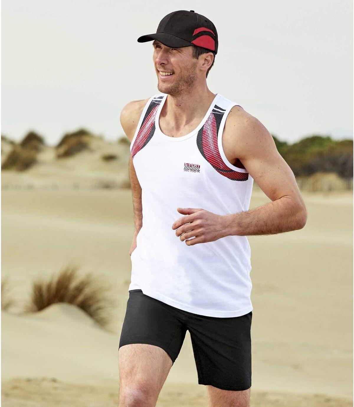 Zestaw 2 par szortów z mikrofibry Sunny Sport Atlas For Men