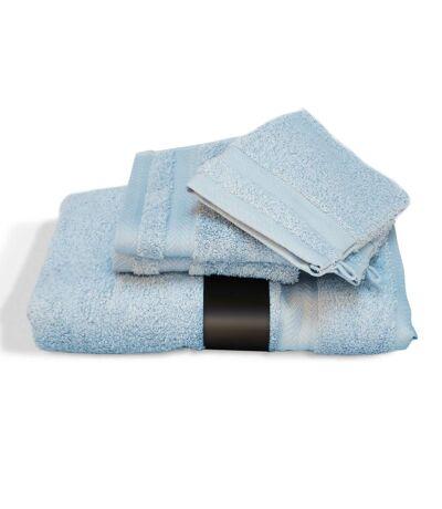 Parure de bain 5 pièces ROYAL CRESENT Bleu Pâle 650 g/m2