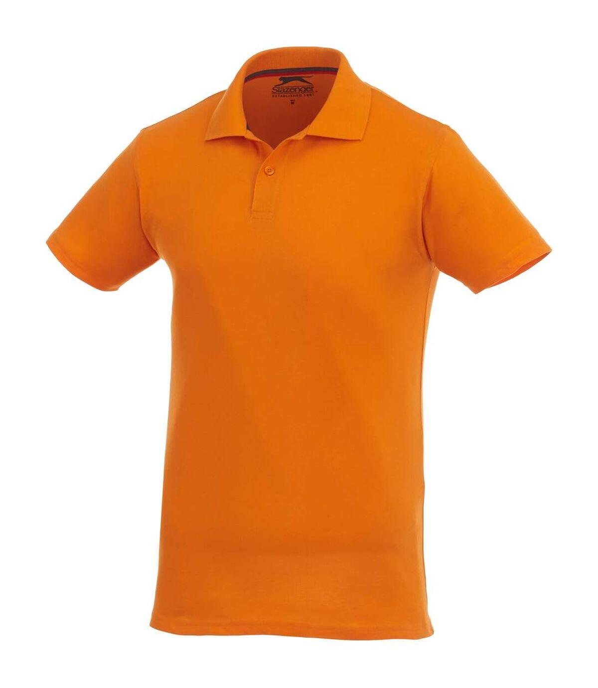 Slazenger Mens Advantage Short Sleeve Polo (Grey Melange) - UTPF1738